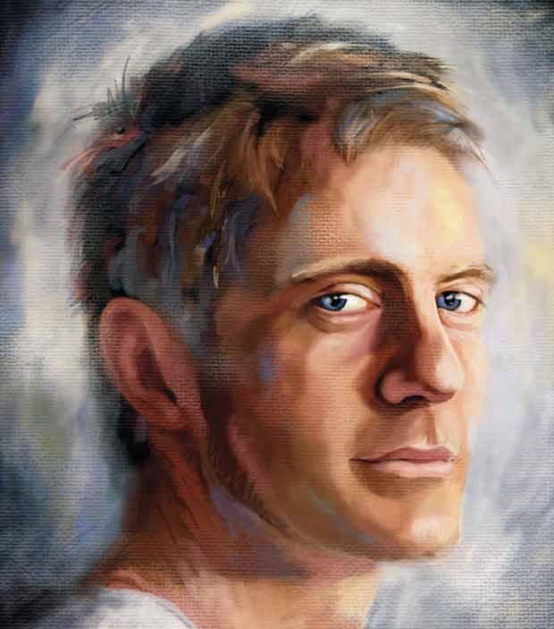 Портрет маслом из фотографии