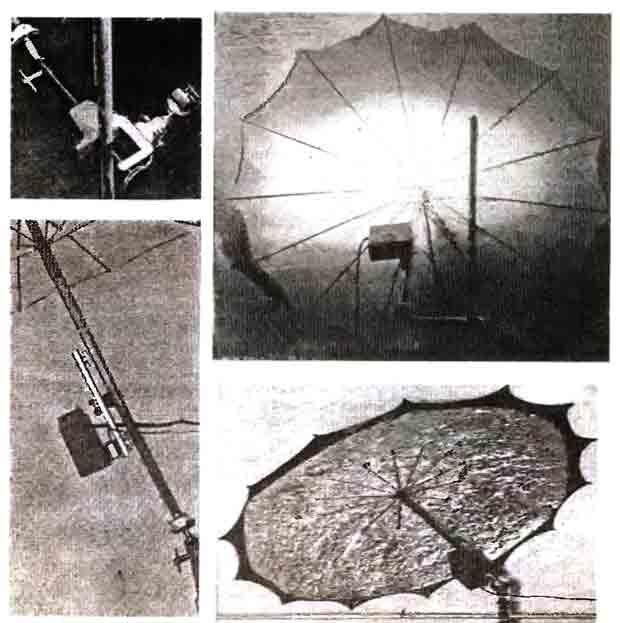 Осветительный зонт из бабушкиного