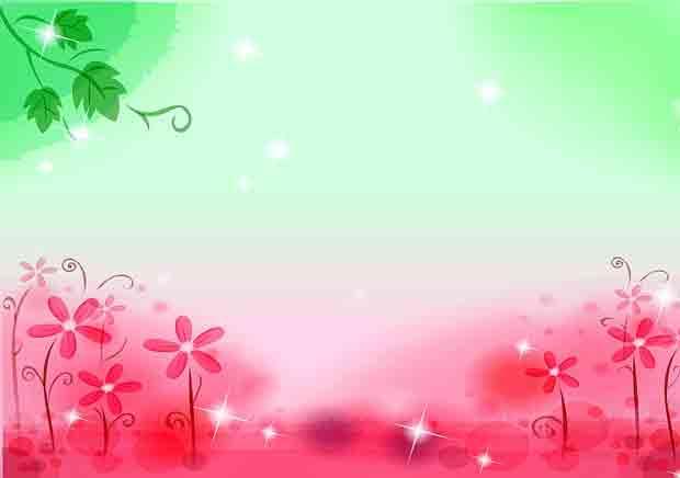 Детский многослойный красно-зелёный фон для фотошопа