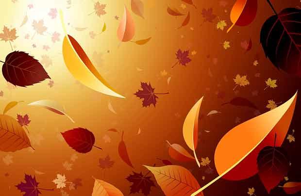 Осенний многослойный исходник