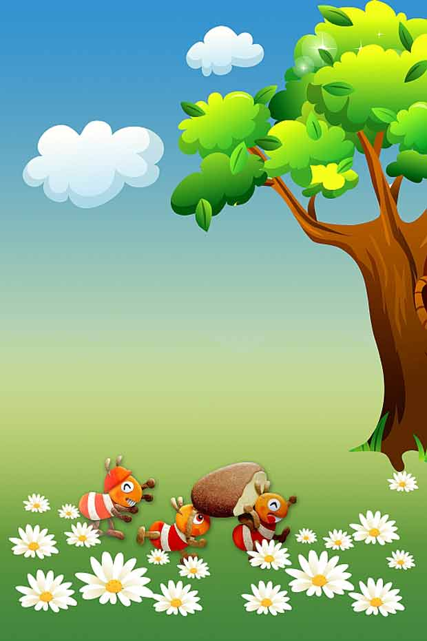 Детский исходник природа
