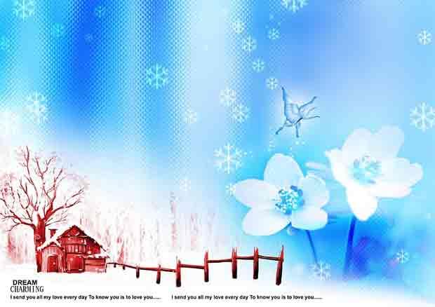 Многослойный исходник Зима