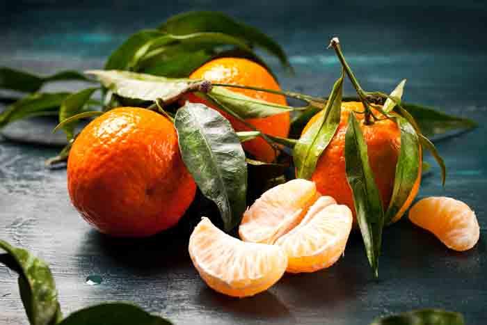 Клипарт Новогодние мандарины