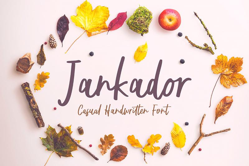 Шрифт - Jankador
