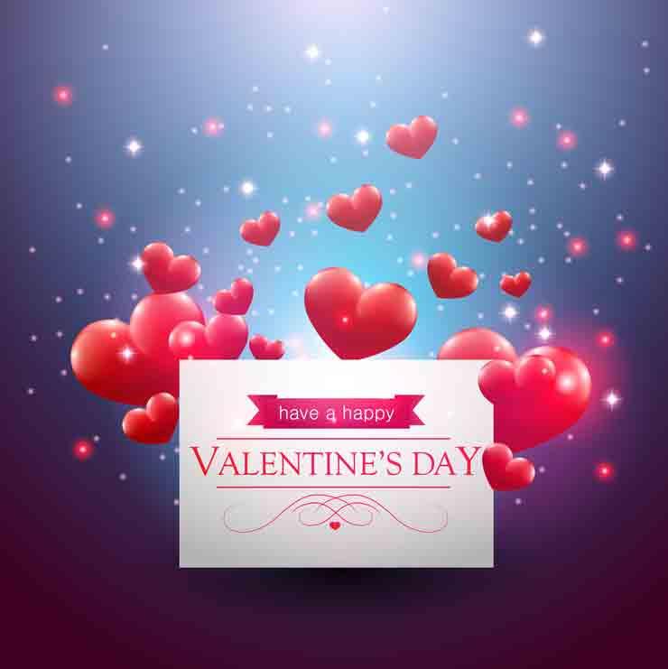 15 открыток валентинок скачать клипарт