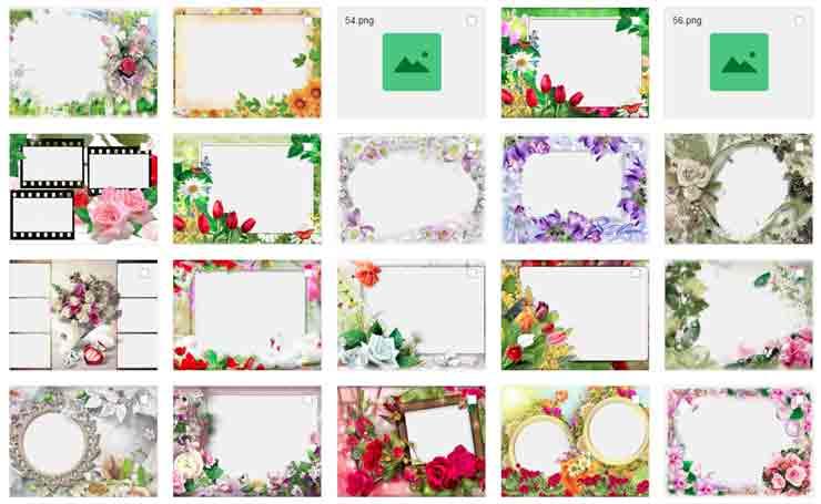 8 марта, большая коллекция открыток, рамок для фото, шаблоны для фотошоп